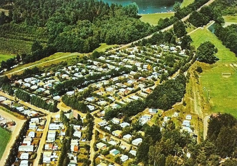 Campingplatz Lopautal von oben